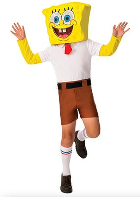 Spongbob adult Halloween costume