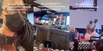 TikTok restaurant segregating