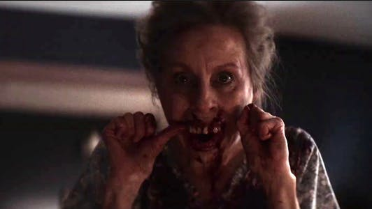 anything for jackson - a ghost woman flosses her teeth out