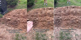 tiktoker finds body buried on top of her sister's grave