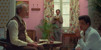 bill murray and jeffrey wright in the french dispatch