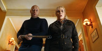 noomi rapace and aksel hennie in the trip