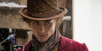 timothee chalamet as willy wonka