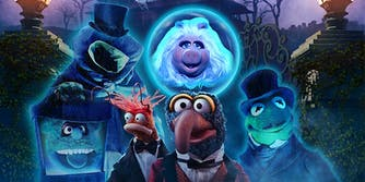 Muppets Haunted Mansion movie poster
