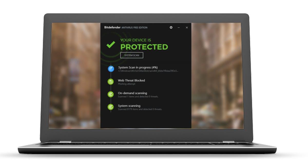 best free antivirus : Bitdefender