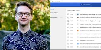 Petter Rudwall Browser History on eBay