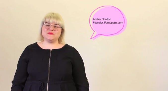 Amber Gordon.