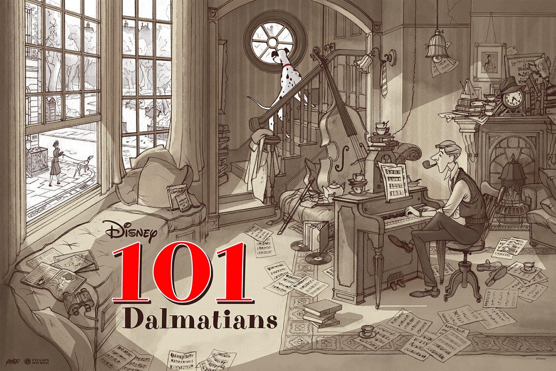101 Dalmatians Mondo
