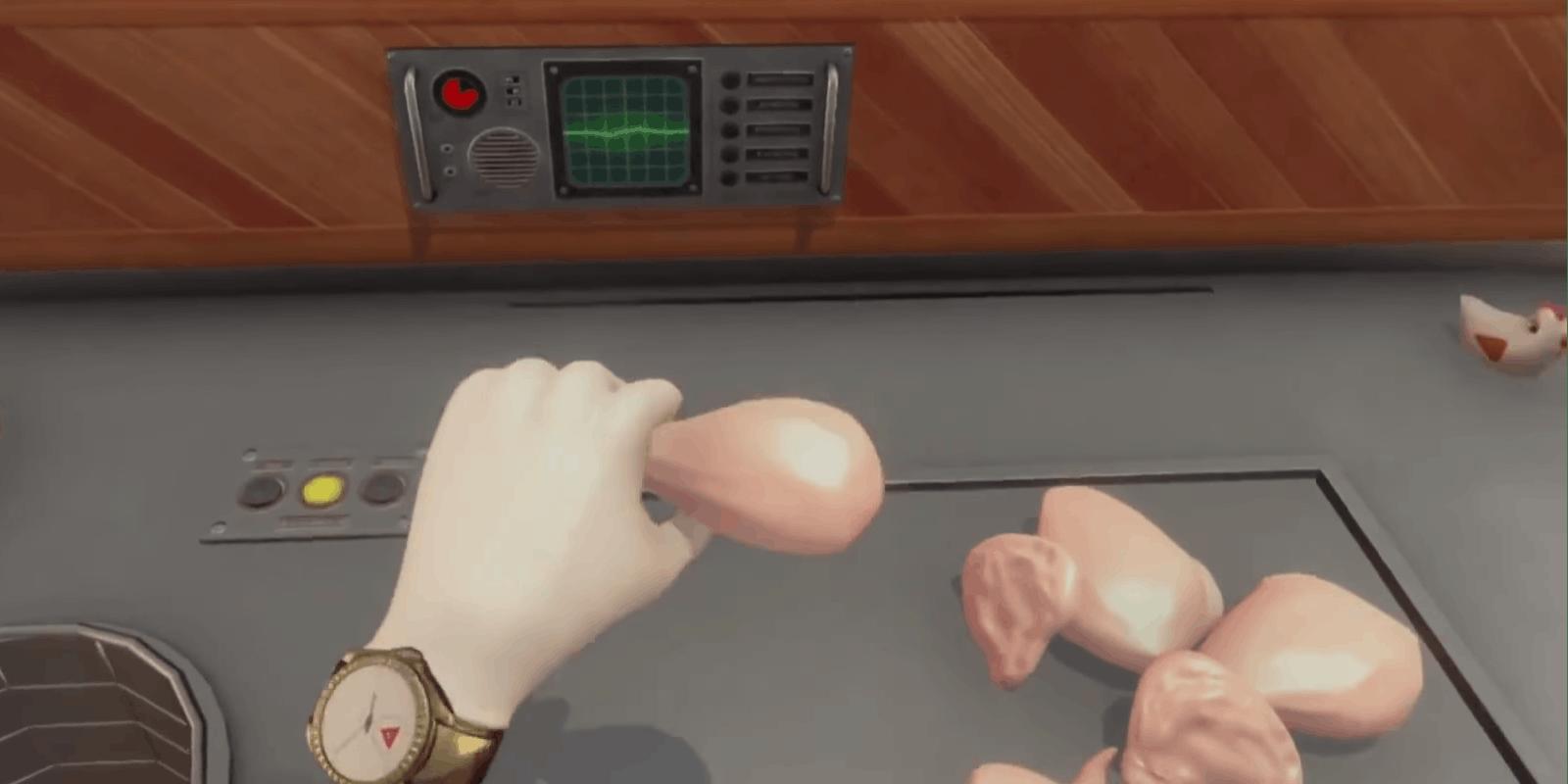 kfc virtual reality game