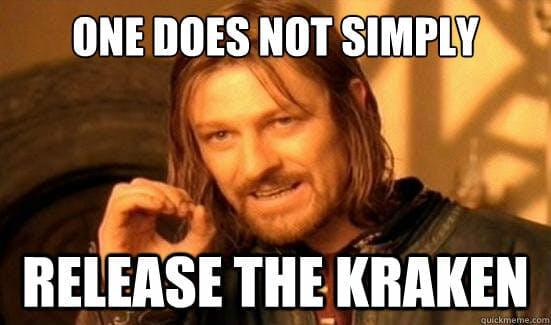 release the kraken meme: one simply does not meme joke