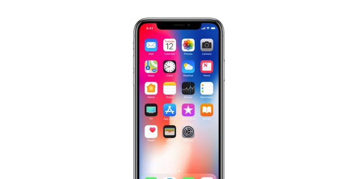 Apple iphone x design display smartphone
