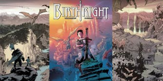 Universal Pictures and Skybound Entertainment will bring fantasy comic 'Birthright' to the big screen.