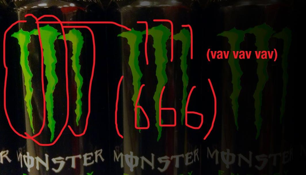 monster energy 666