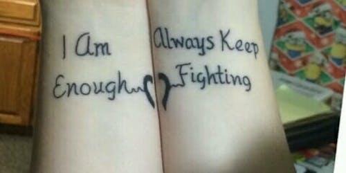 tattoo mental health supernatural fan