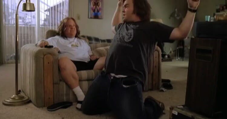 weird movies on netflix : tenacious d in the pick of destiny
