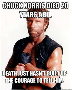 Chuck Norris death