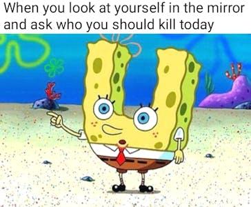 spongebob suicide meme