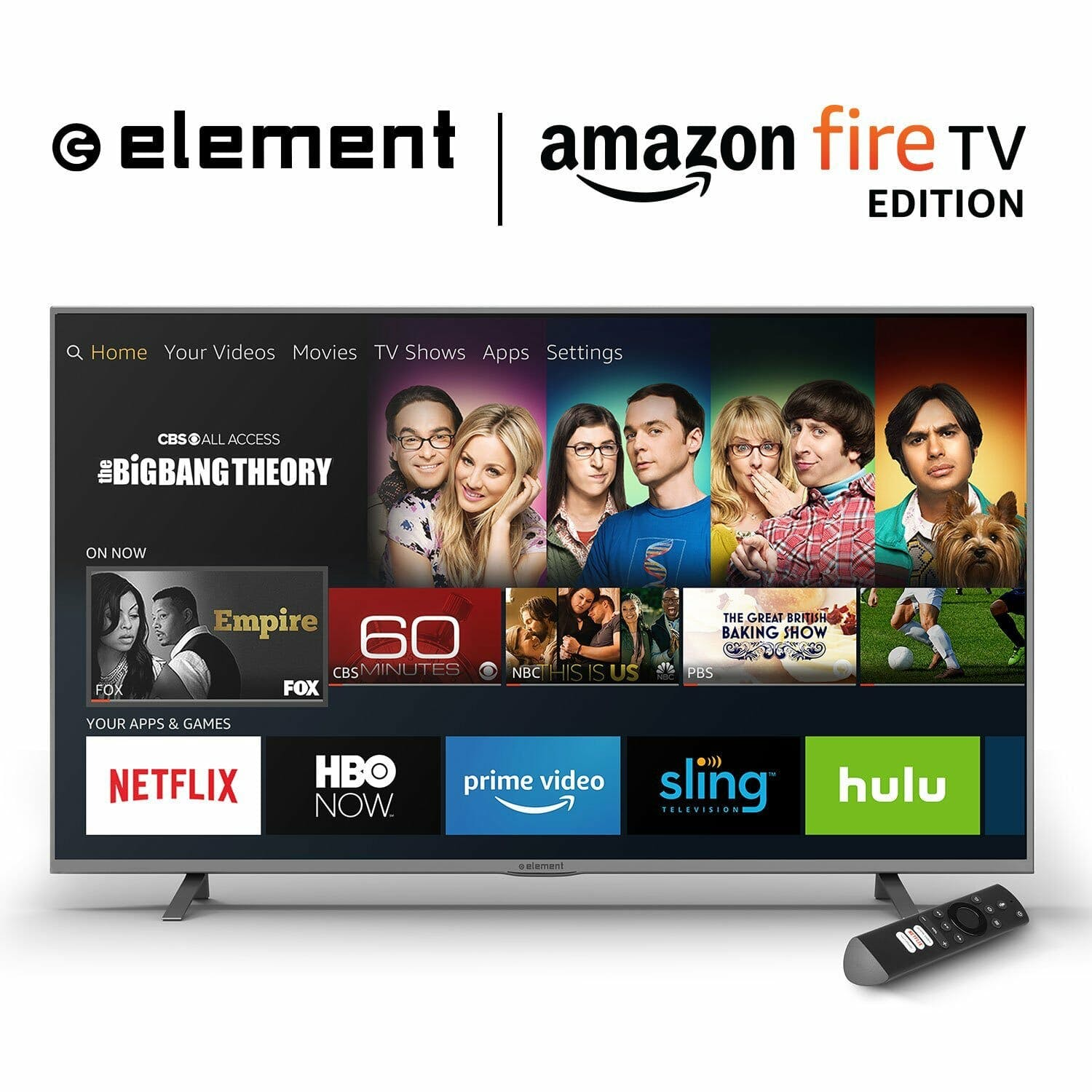 what is amazon fire tv : Element