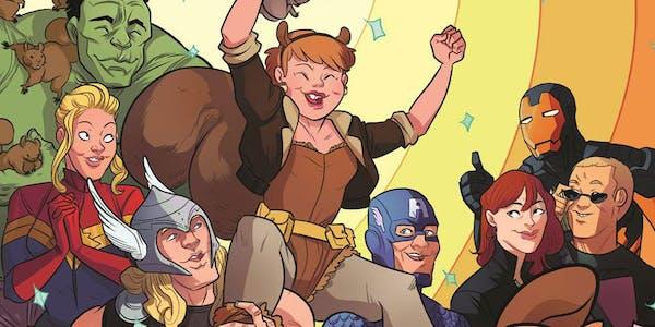 female comic superheroes : squirrel girl