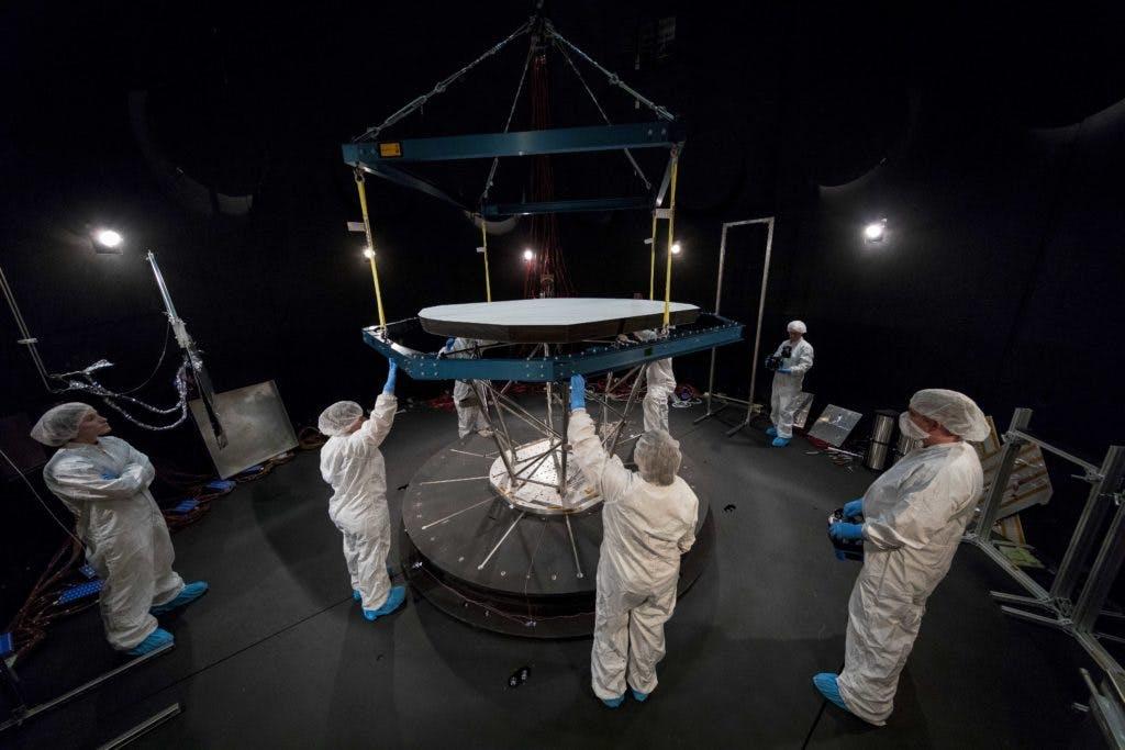 nasa parker space probe heat shield