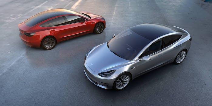 Tesla Model 3 production elon musk