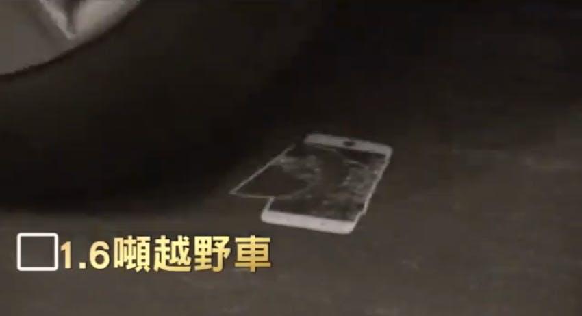iPhone 6 car test