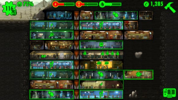 This is what a healthy Vault looks like.