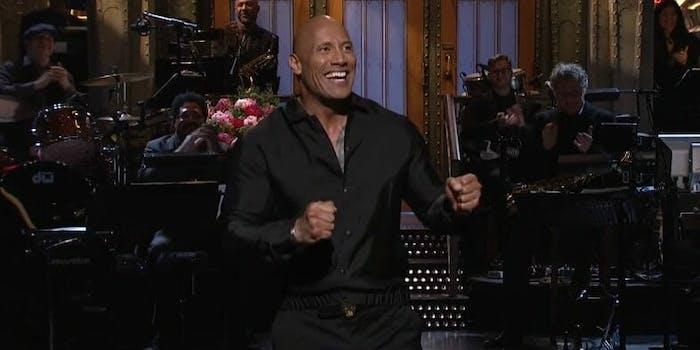 Dwayne Johnson SNL monologue running for president
