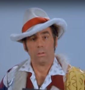 Kramer in hat