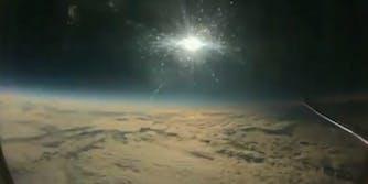 Airplane solar eclipse