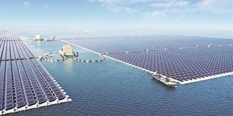 china lake floating renewable energy