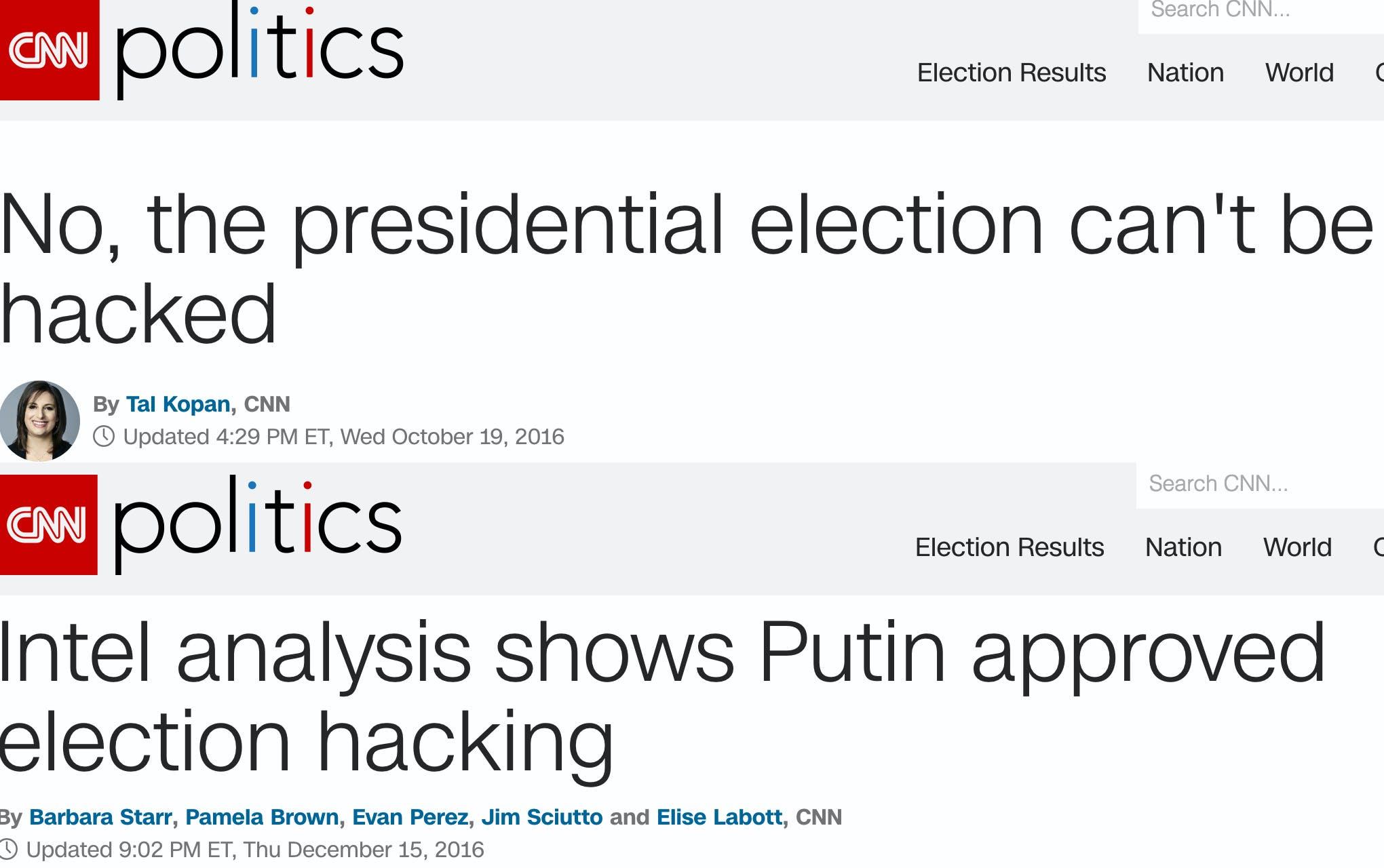 CNN is just an example, not the only culprit.