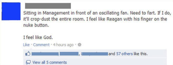 funny facebook post