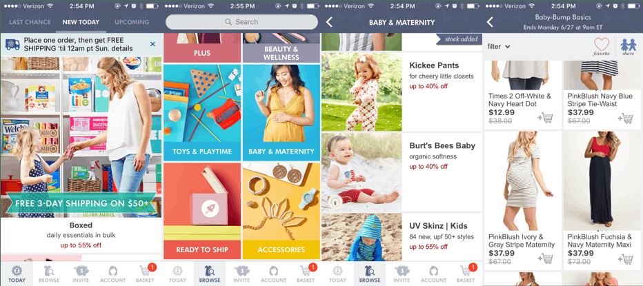 app for pregnancy: Zulily