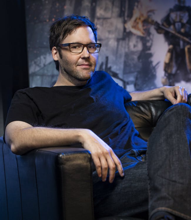 Christopher Barrett, game director for Rise of Iron