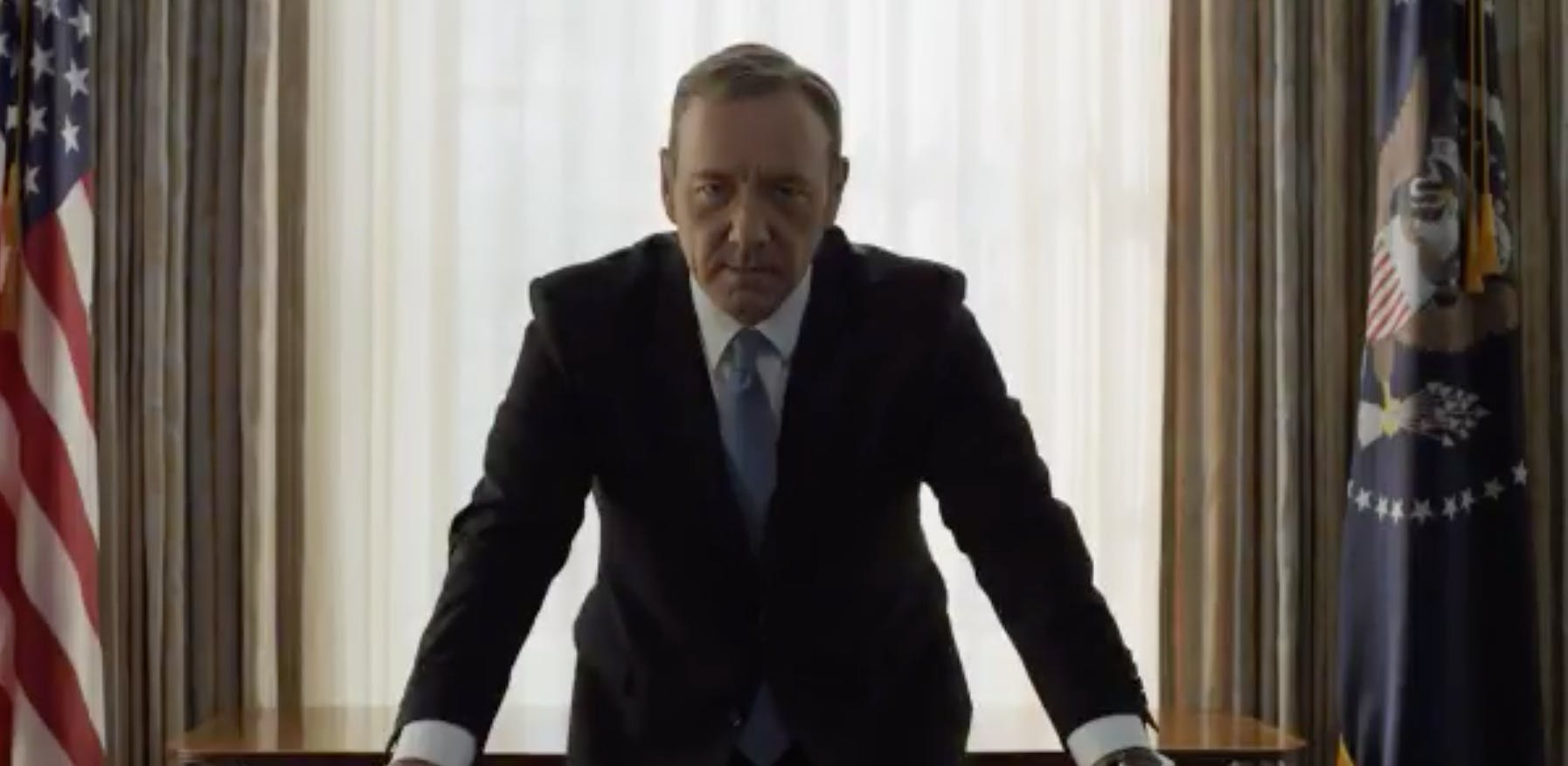 A teaser clip revealing the House of Cards season 5 release date