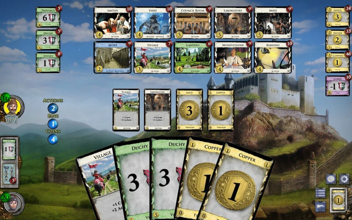 board games online : Dominion
