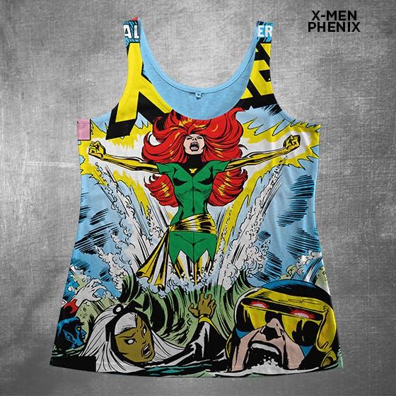 Geek fashion tank top X-Men
