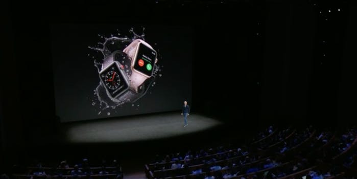 Apple Watch Series 3 stage