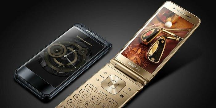 samsung dual display phone