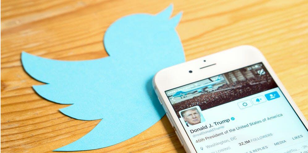 twitter social media donald trump