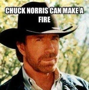 Chuck Norris Ice Cubes