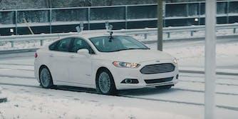 ford self-driving autonomous car