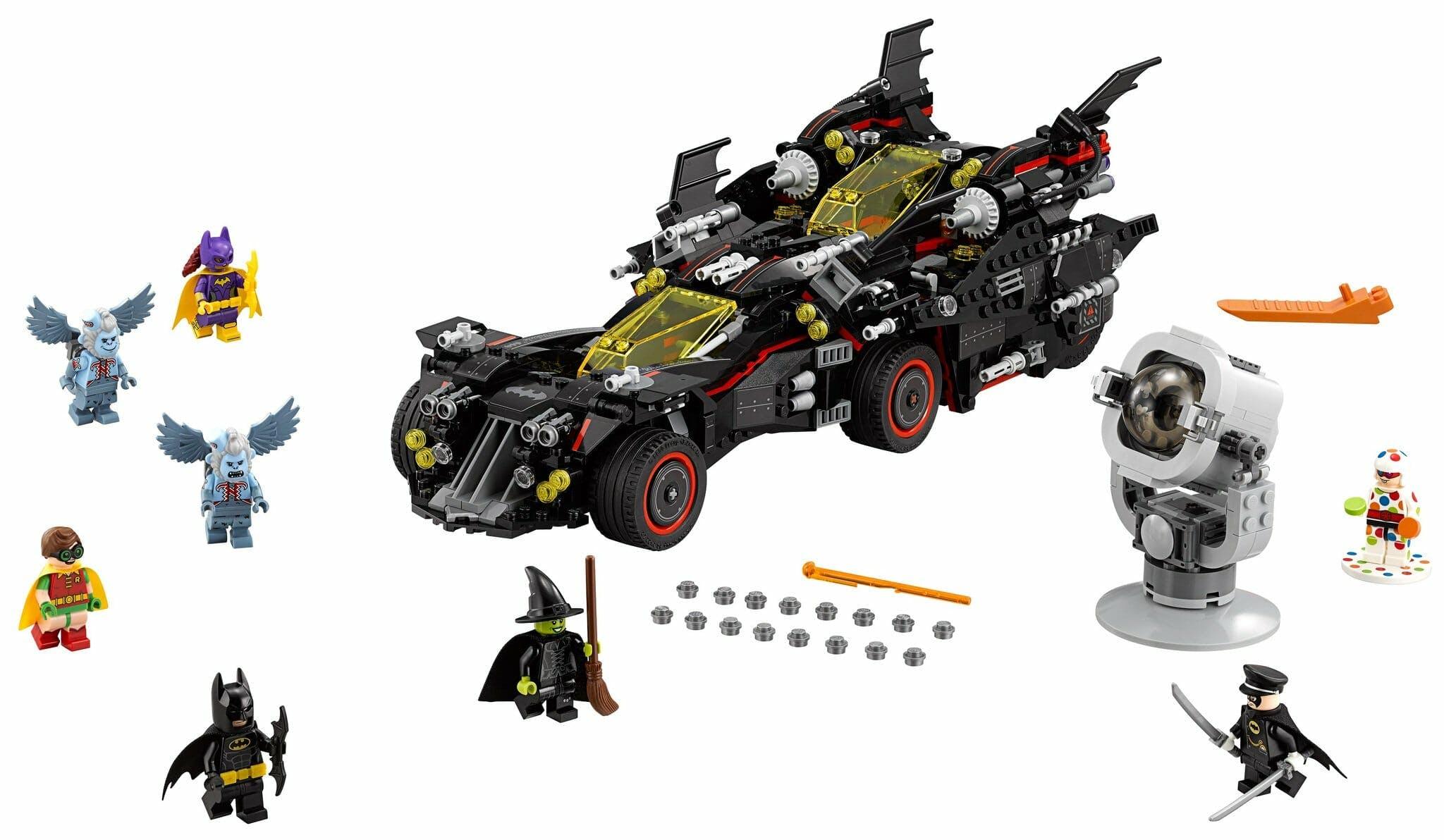 lego batman sets Ultimate Batmobile (2017)