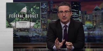 john oliver budget