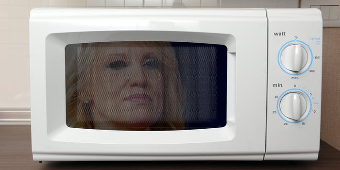 Kellyanne Conway microwave oven