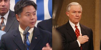 Rep. Ted Lieu and Jeff Sessions