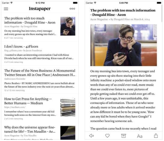 Best iphone apps: instapaper
