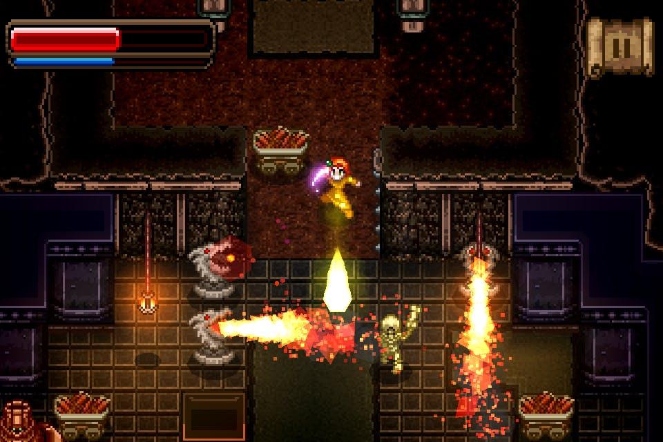 Wayward Souls mobile game developed by Rocketcat Games