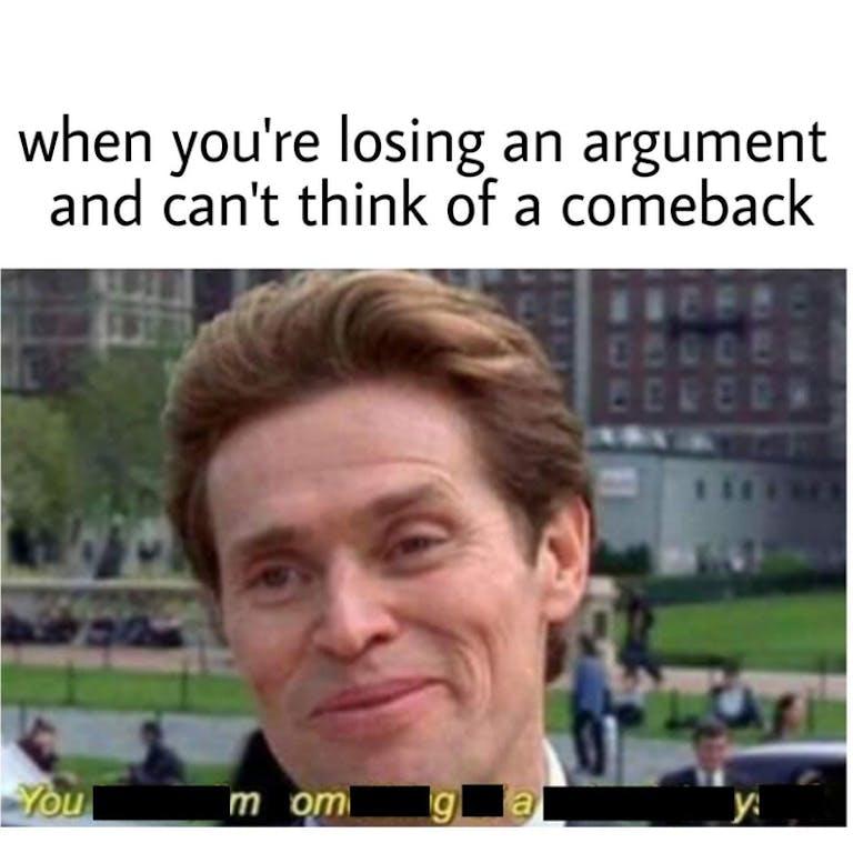you mom gay scientist meme